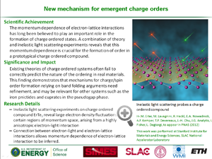 "DOE Highlight ""new mechanism for emergent charge orders"